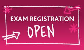 exam registration open