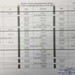 2017年度年中考考试时间表-初中 Mid-Year Examination Timetable-Junior