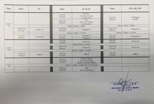 exam date 3