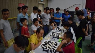 槟城韩江中学棋艺比赛