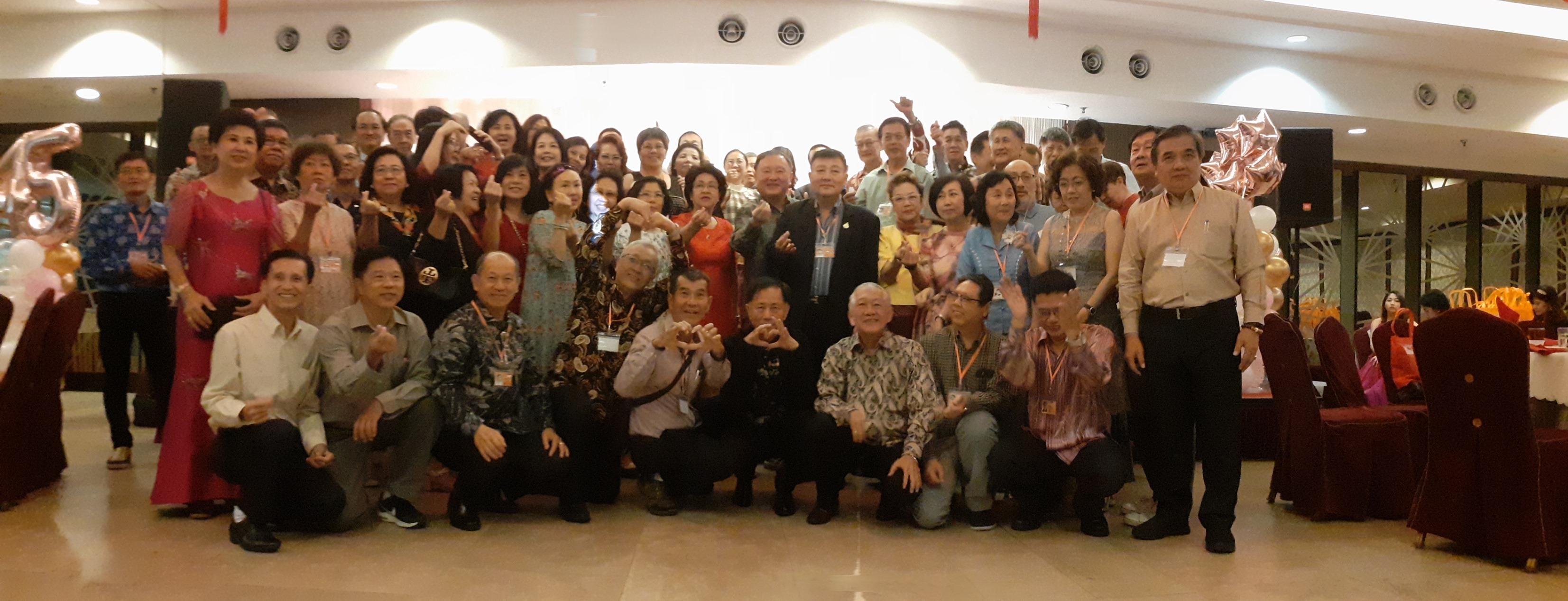 韩中74年毕业同学会