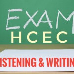 第一学期期中考 – 英语中心 (听力与写作) First Semester Mid-Term Test – HCEC (Listening & Writing)