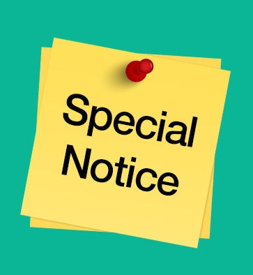SPECIAL NOTICE PICTURE LOGO