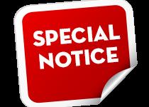 Special-Notice