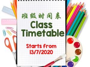 Classtimetable